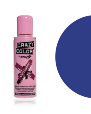 capri blue crazy color
