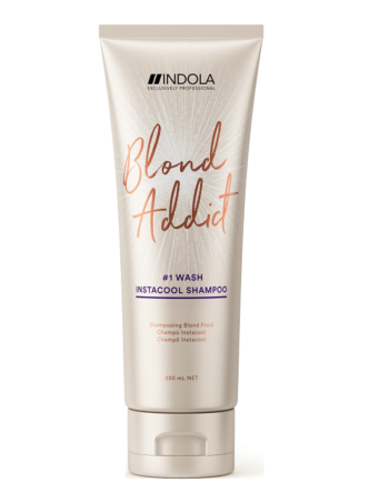 blond addict instacool shampoo